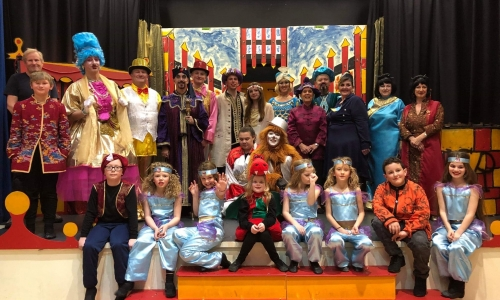Image of Bildeston Panto performers