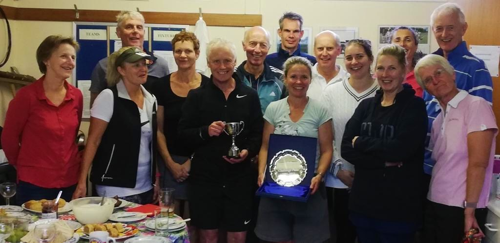 Photo of Bildeston Tennis Club members
