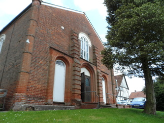 Image of Bildeston Baptist Church and surrounds