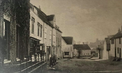 Historical image of chapel street