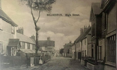 Historical image of high street
