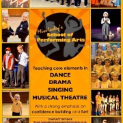 MLSPA poster advertising performing arts school