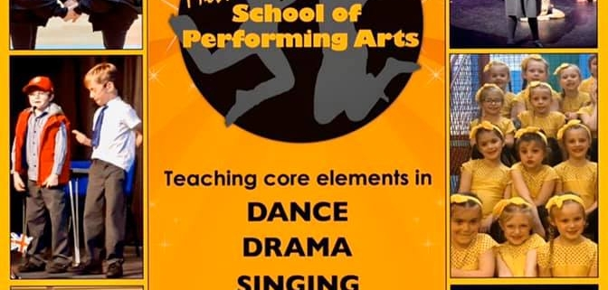 MLSPA poster advertising performing arts school