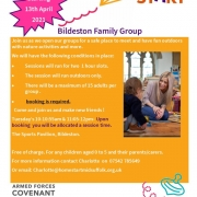 Bildeston Baby and Toddler Group flyer