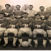 Photo of Bildeston Rangers football club in 1960s