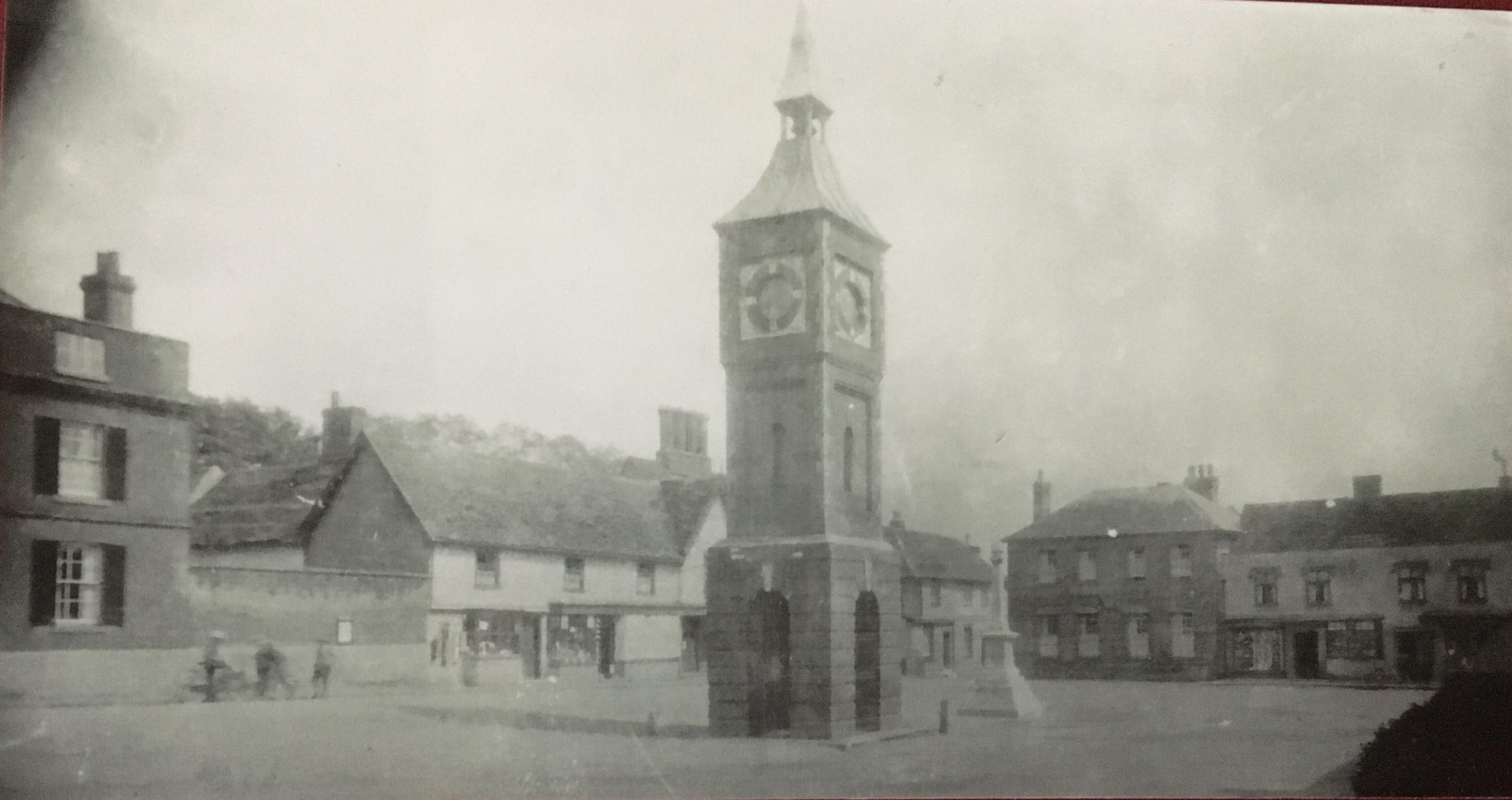 Photo of Bildeston Market Placce circa 1925