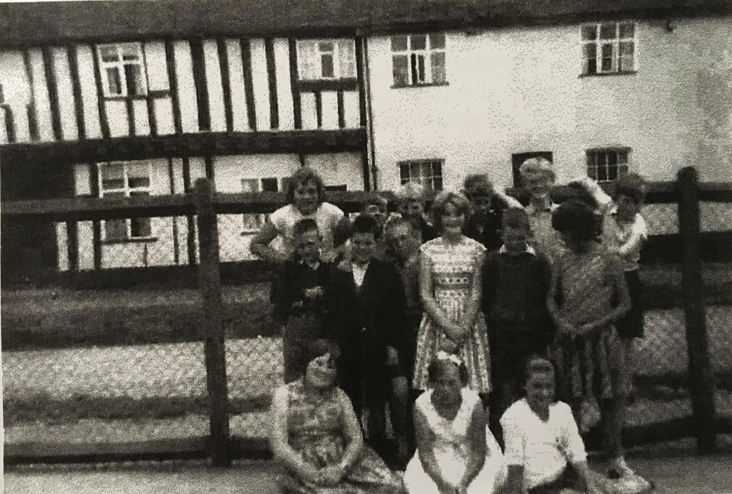 Some school leavers in July 1963